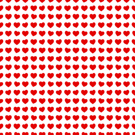 romantic: Abstract seamless hearts romantic background wrapping paper pattern
