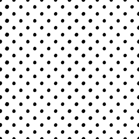 scribble: seamless scribble dotted pattern. Trendy abstract background Illustration