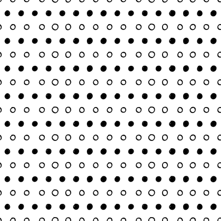 dot pattern: Abstract seamless dotted vector pattern. Minimalistic geometric background