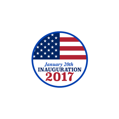 promising: Vector presidential inauguration 2017 icon