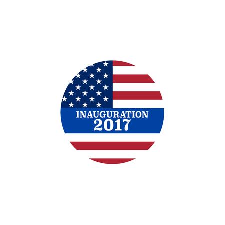 oration: Vector presidential inauguration 2017 icon