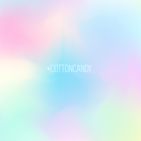Nice pastel cotton candy background. Gradient in soft colors for modern design
