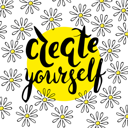 yourself: Create yourself with chamomile.