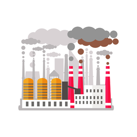 Factory pollutes the enviroment