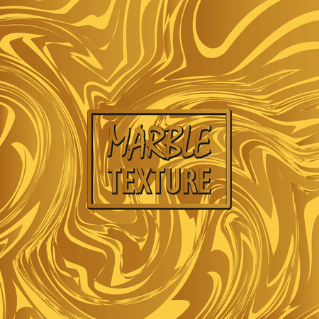 Digital marble background vector marble texture, abstract marble texture background. Colorful waves, marble cover template for booklet, brochure, card, flyer. Yellow and brown golden marble background. 向量圖像