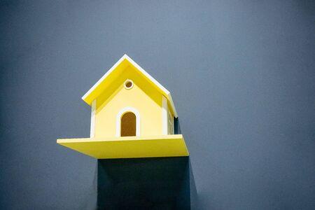 Nest box birdhouse house for birds Фото со стока