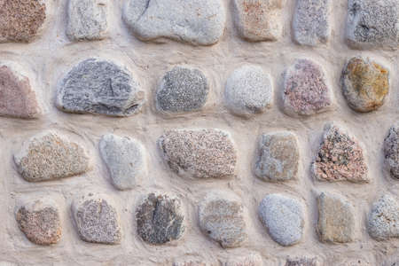 Background of stone wall texture.Ancient wall built of white stone. natural stones.wall textured background
