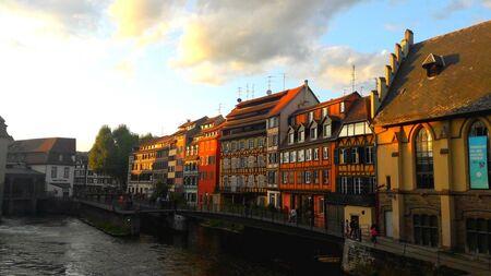 Strasbourgs alsatian houses