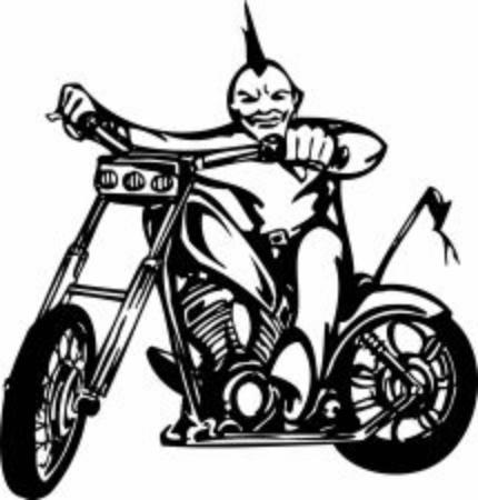 Thunder Cycles Vector