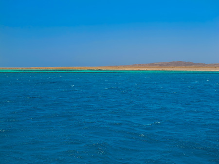 red sea: Red Sea and an Island