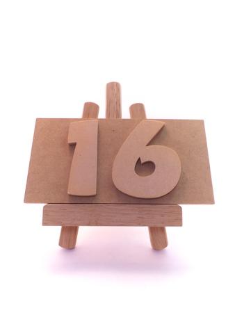 number 16: Number 16