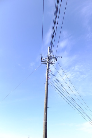 utility pole: Power transmission and utility pole