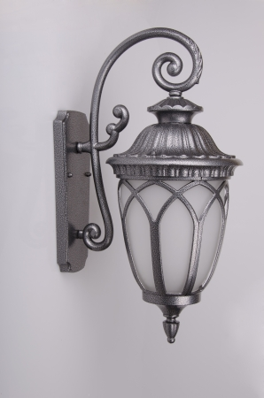 metall texture: street sconce