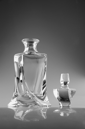 glass  decanter for whiskey