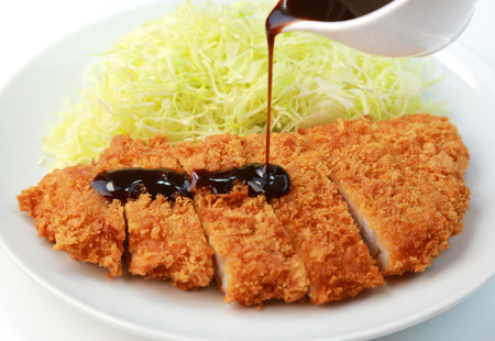 Japanese food / Pork cutlet