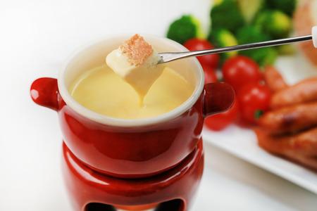 cheese fondue Archivio Fotografico