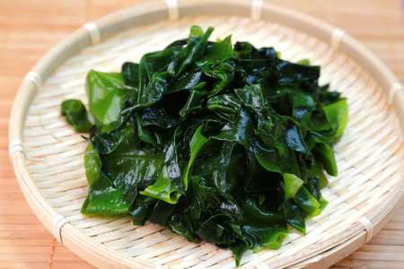 Wakame seaweed  Japanese food