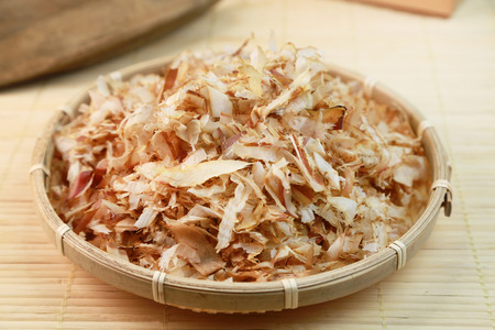 Japanese food  Dried bonito Stock Photo