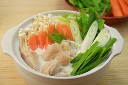 Japanese food / Soybean milk pan / soy milk one-pot dish