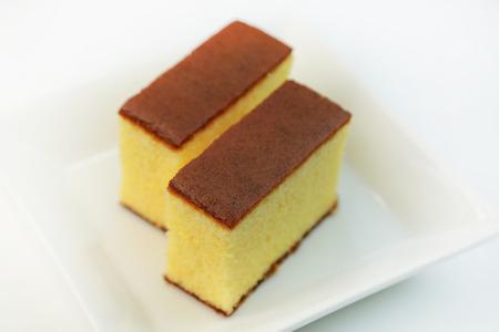 castella / Japanese sponge cake Standard-Bild