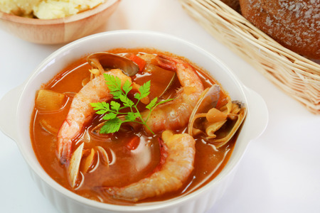 魚湯 版權商用圖片