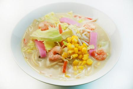 nagasaki: Japanese food  Nagasaki chanpon noodles Stock Photo