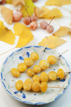 gingko: gingko seeds