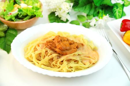 Pasta of the sea urchin