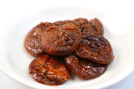 fig: Dry fig Stock Photo