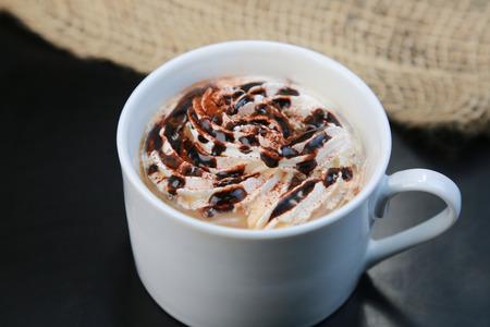 Hot chocolate Zdjęcie Seryjne