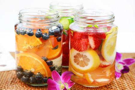 frutas: agua de frutas