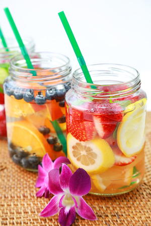 fruit in water: fruit water