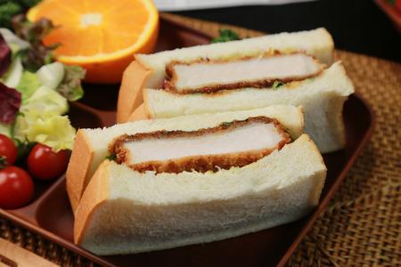 Katsusando Japanese food Pork cutlet sand