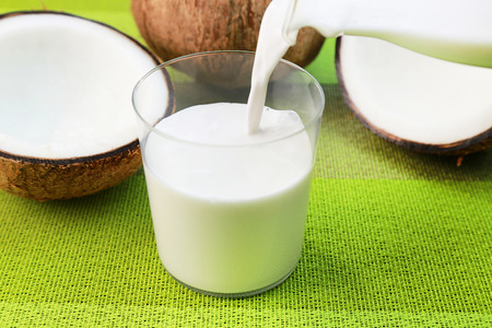 white yummy: Coconut milk