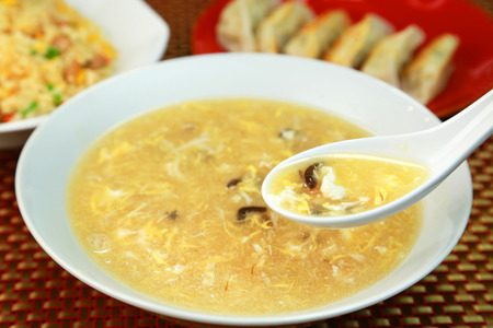 Chinese egg soup