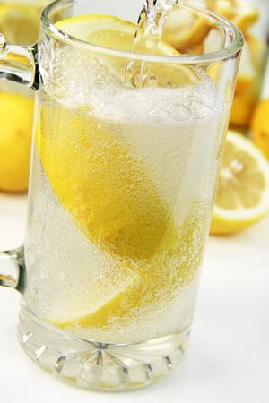 Lemon soda 版權商用圖片