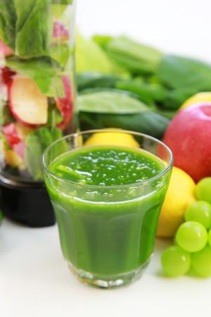 green vegetables: Smoothie