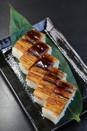 海鰻壽司 版權商用圖片