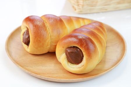 cornet: Chocolate cornet bread