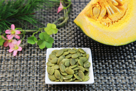 pumpkinseed: Pumpkinseed Stock Photo