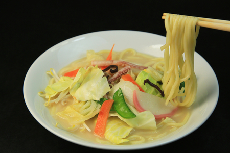 nagasaki: Nagasaki chanpon noodles