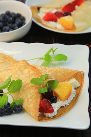 crepe: Crepe Stock Photo