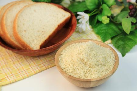 crumbs: Bread crumbs