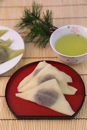 traditonal: Japanese confectioneryYatsuhashi