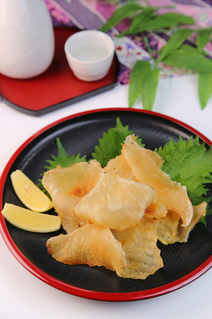 Ray findish of the Japanese food Stock Photo