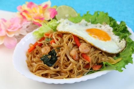 mi: Indonesian chow mein Stock Photo
