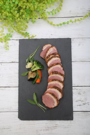 Pastrami is Smoked Food of the Duck Meat Which I Seasoned with Spice.