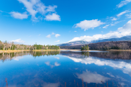 知床五湖、知床五湖、北海道の知床国立公園に日本します。 写真素材