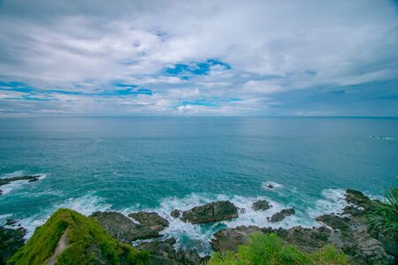 The Beauty Of Southern Indonesian Coast from the Cliffs