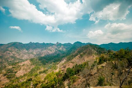 Enchanting Highlands in Magelang, Indonesia Stock Photo